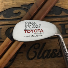 Hickory Shaft Engraved Niblick Golf Club  Dedicated Service Gift