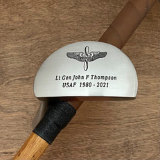 Hickory Shaft Mallet Putter Golf Club Thank you for your service!