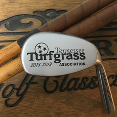 Hickory Shaft Engraved Niblick Golf Club  Personalized Milestone Awards and Recognition