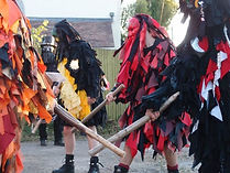 One of the many visits from Mythago Morris Men