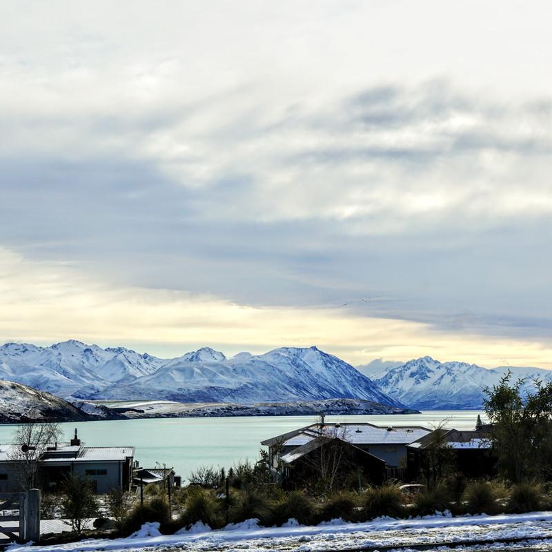 Lake Tekapo - View from Tekapo Nocturne