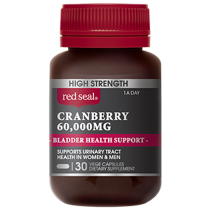 High Strength Cranberry 60,000mg (30 capsules)