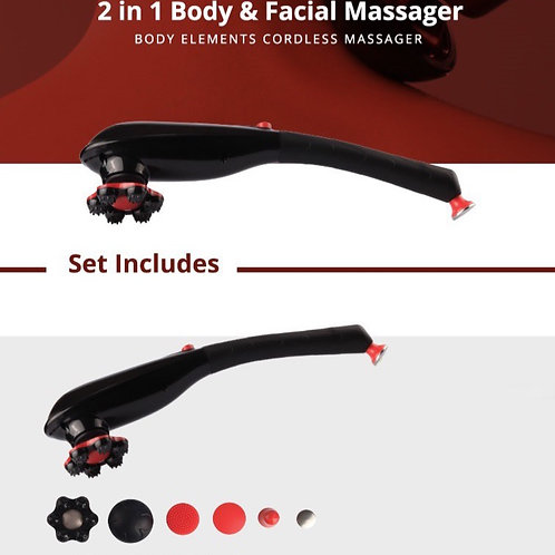 Body Elements - dual cordless massager