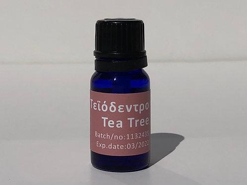 Τεϊόδεντρο αιθέριο έλαιο tea tree essential oil 10ml