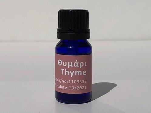 Θυμάρι αιθέριο έλαιο thyme essential oil 10ml
