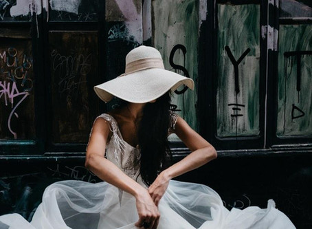 The not predictable bride in Venice