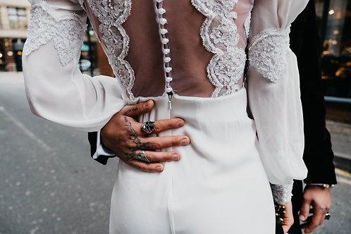 Bridal Jumpsuit Tommy
