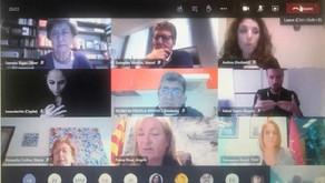 La consellera de Cultura, Àngels Ponsa, presideix el Consell Social de la Llengua de Signes Catalana