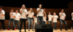 Students performing at A Cappella Univesity 2017