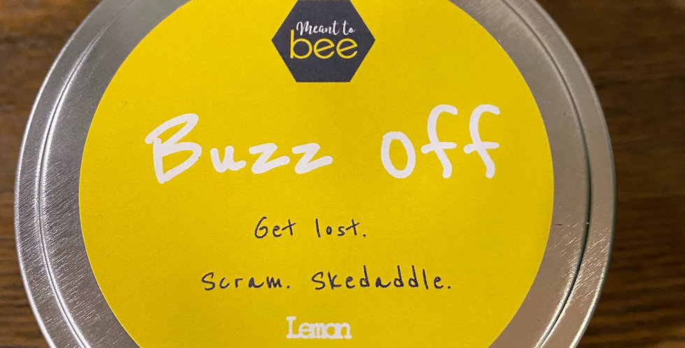 Buzz Off Candle