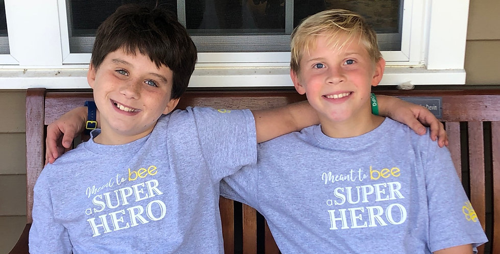 Meant to Bee a Super Hero youth T-shirt