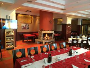 Ресторантът в хотел Стената
