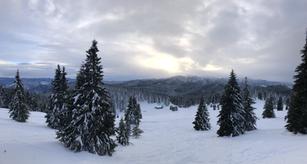 Гледката от връх Снежанка