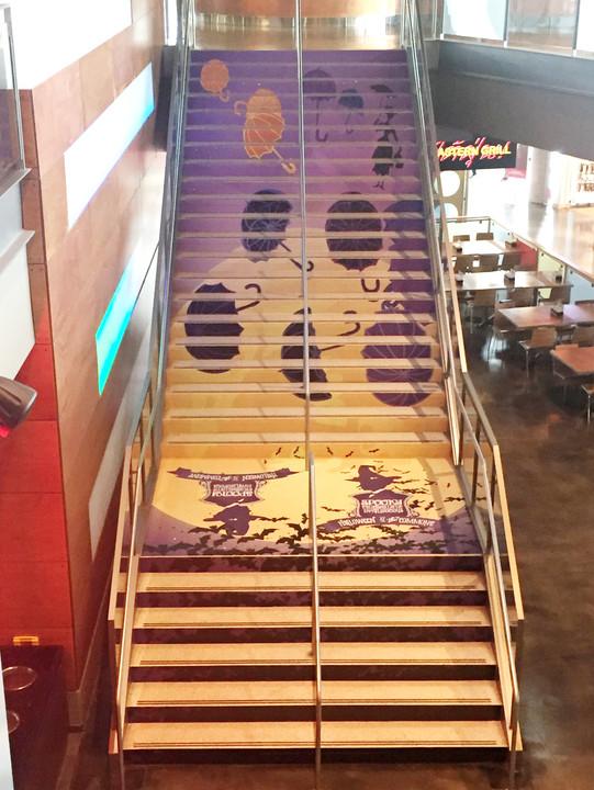 Stair Wrap Design / Print