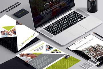 Propety Brochure + Web + Floorplans