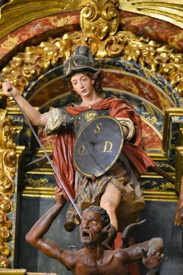 Retablo San Ildefonso de Granada