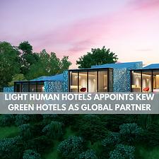Light Human Hotels Appoint Kew Green
