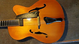 Ekrem Özkarpat Custom Jazz Guitar