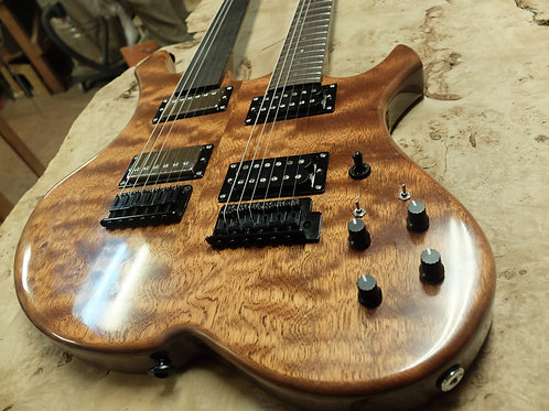 Ekrem Özkarpat   Double Neck Electric Guitar   Çift Saplı Elektrik Gitar