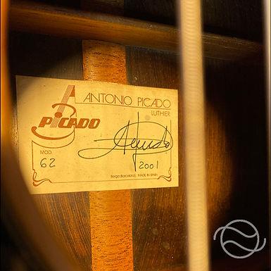 ANTONIO PICADO - MOD. 62 2001