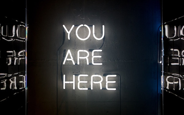 You Are Here - take time to reflect on the past year