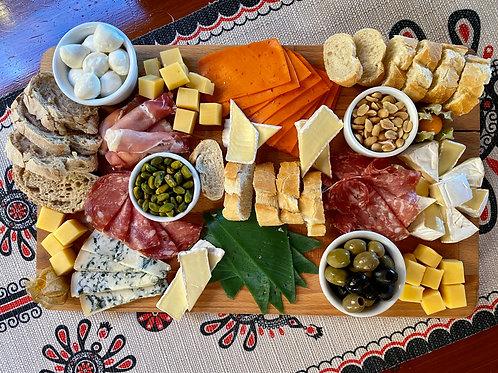 Deska serów i przekąsek