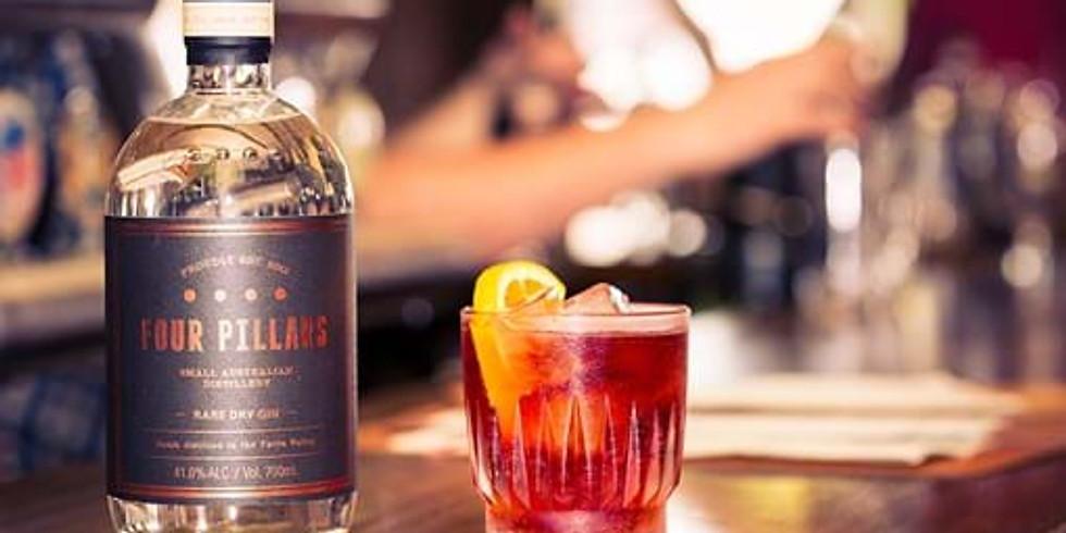 Tasty Tuesday-  Four Pillars Gin Tasting