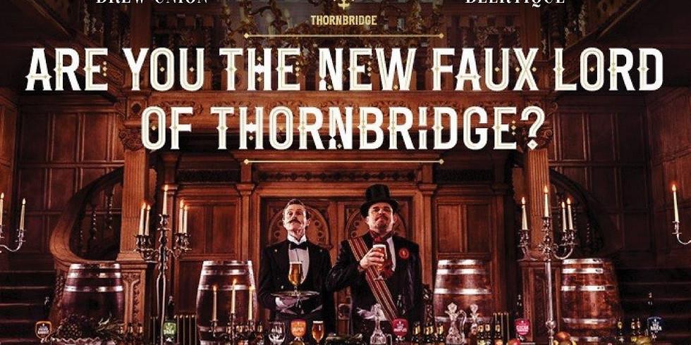 Tasty Tuesday - Faux Lord of Thornbridge