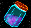 The Star Jelly Files Patreon Blueberry Jelly Tier Icon