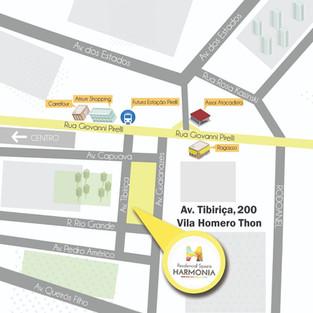Localização Residencial Spazio Harmonia