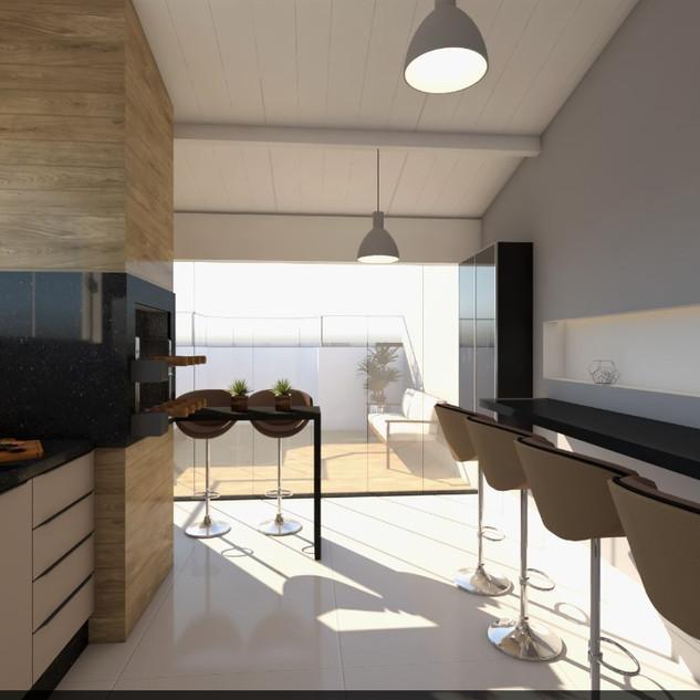 Villa America Cobertura 3D 1