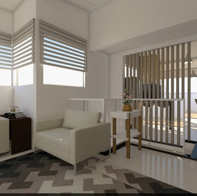 Villa America Cobertura 3D 2