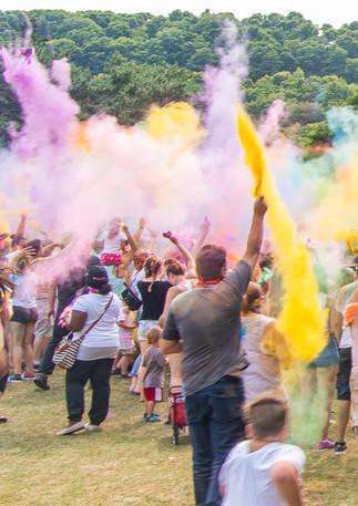 World Record Colour Throw!
