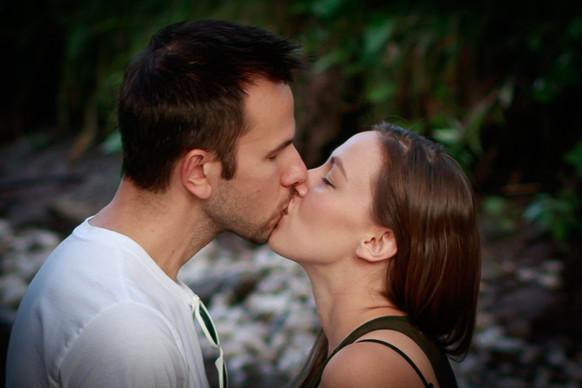 Kiss at the Creek