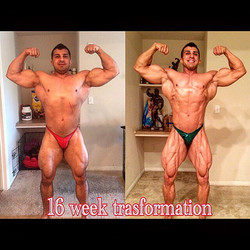 My 16 week transformation 🙏🏻_You can do it also 💯I promise you😉 All you need is motivation and a