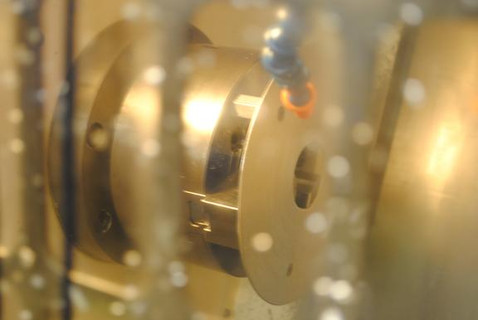 View inside a Turning Center