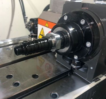 Fourth Axis Work on a Precise Optics Commutator
