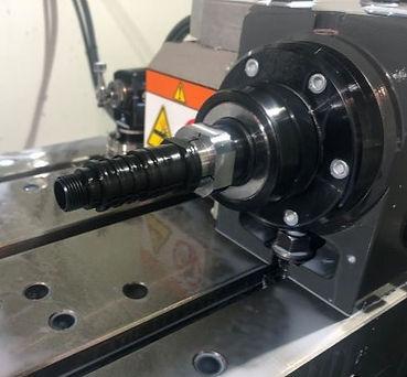 Fourth Axis Work on a Precise Optics Commutator