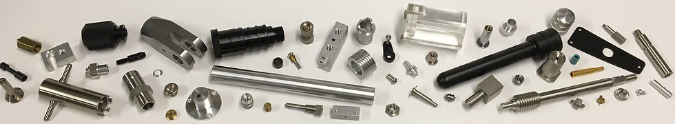 Selection of Parts Produced by Elco Machine Company