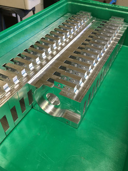 Housings Coming Off the Mill