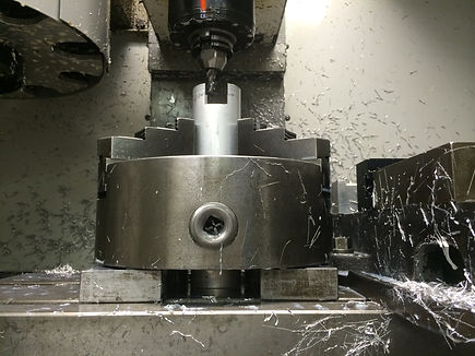 Milling Features Into Aluminum Discharge Tube