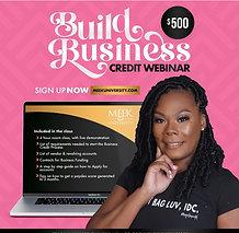 Build Business Credit Webinar Replay