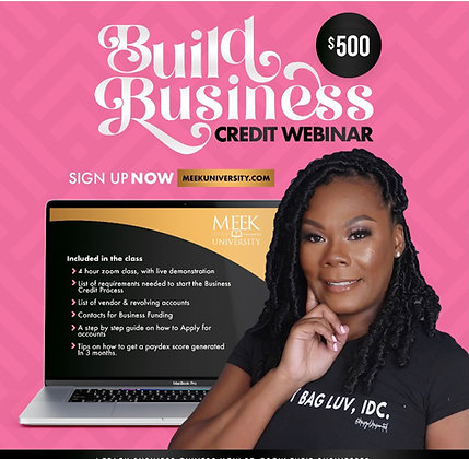 Build Business Credit Webinar Replay