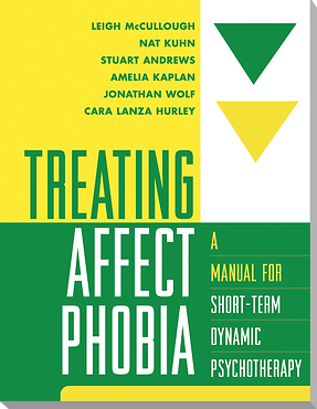 Cover of book, Treating Affect Phobia, co-authred by Dr. Stuart Andews
