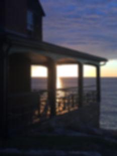 Dawn on Eden Road, Rockport, MA