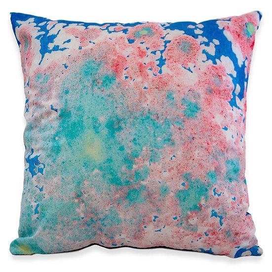 Rust in Bloom No 6. Silk Pillow