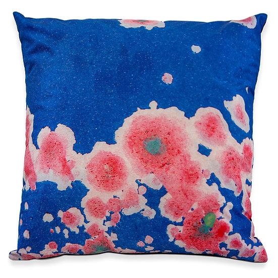 Rust in Bloom No 7. Silk Pillow