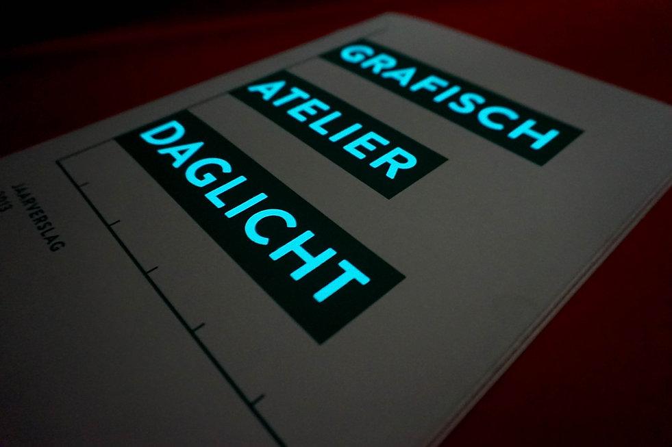 Jaarverslag Grafisch Atelier Daglicht