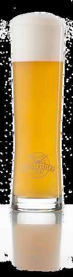 Kübelbier, Bier, Bierglas, naturtrüb, Hefe,