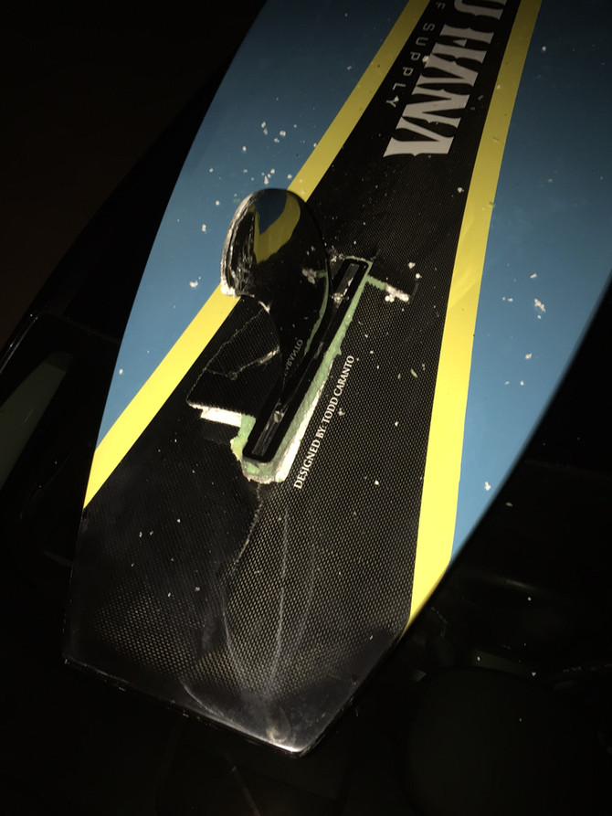 Garage Door 1, Paddle Board 0